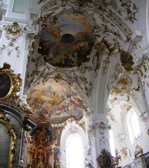 Baroque Church at Monastery Andechs