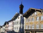 Bad Toelz is a nice town in the foothills of the Alps