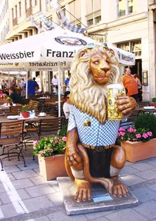 Bavarian Beer Lion