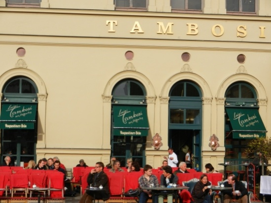 Cafe Tambosi at Odeonsplatz