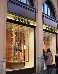 Chanel Designer Clothes Boutique in Munich