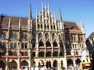 New City Hall at Marienplatz, Munich