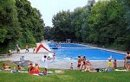 Outdooor swimming pool Dantefreibad Munich