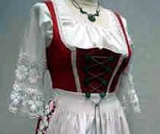 Bavarian Dirndl Dresses