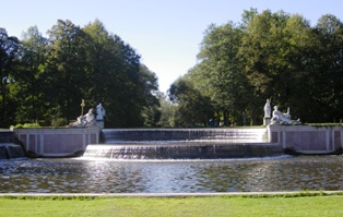 Fountain at Nymphenburg park