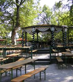 The Waldwirtschaft Grosshesselohe beer garden