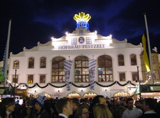 Hofbraeu Beer Tent