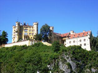 Hohenschwangau Castle near Fuessen