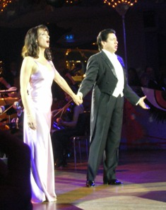 Anna-Maria Kaufmann and Francisco Araiza performing in Munich
