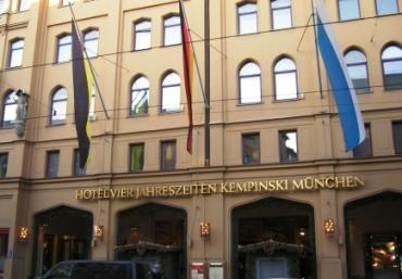 Vier Jahreszeiten Kempinski Hotel Munich