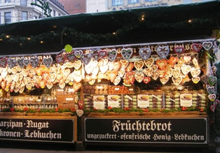 Famous German Lebkuchen (gingerbread)