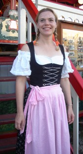 Traditional Dirndl at the Starkbier Festival