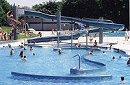 Outdooor swimming pool Michaelibad in Munich