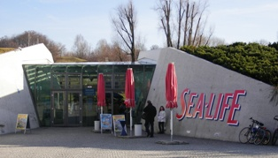 Sea life aquarium in the Olympic park in Munich
