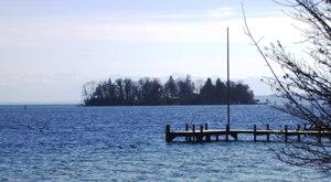 Roseninsel, Rose Island at Starnberger See