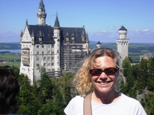 View to Neuschwanstein from Marienbruecke