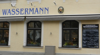 Wassermann Restaurant near Hohenzollernplatz in Munich