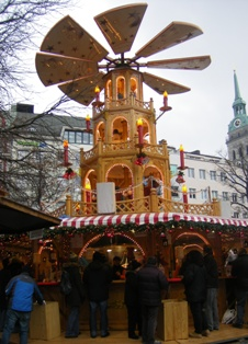 We Germans love our Weihnachtsmarkt to meet friends and do Christmas shopping